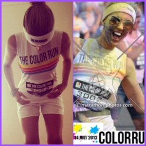 5K London Wembley Dulux Color Run