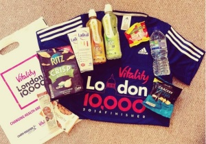 Vitality London 10000 running event