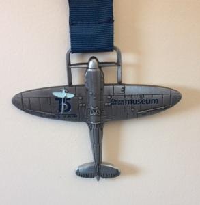 RAF spitfire 10K medal