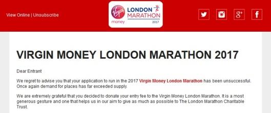 Virgin London Marathon 2017