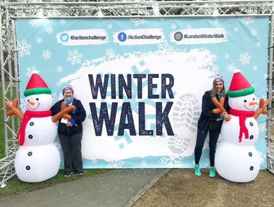 London Winter Walk 20K