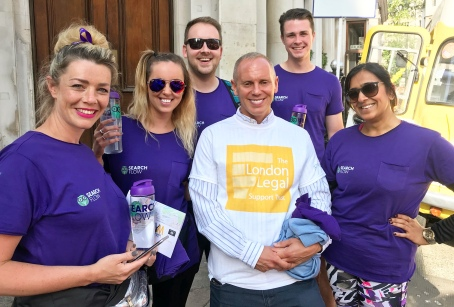 London Legal 10K Walk 2018