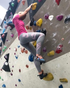 rock-climbing bouldering at Chimera