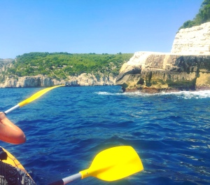 Kayaking in the South of France