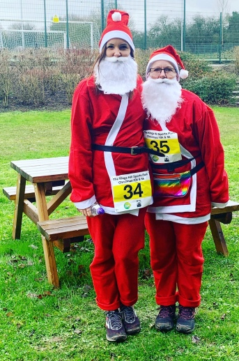 Kings Hill Sports Park Santa Run 5K 2019